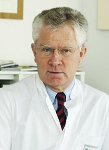 Prof. Manfred Gahr, medizinischer Vorstand des Vereins Dresdner Kinderhilfe