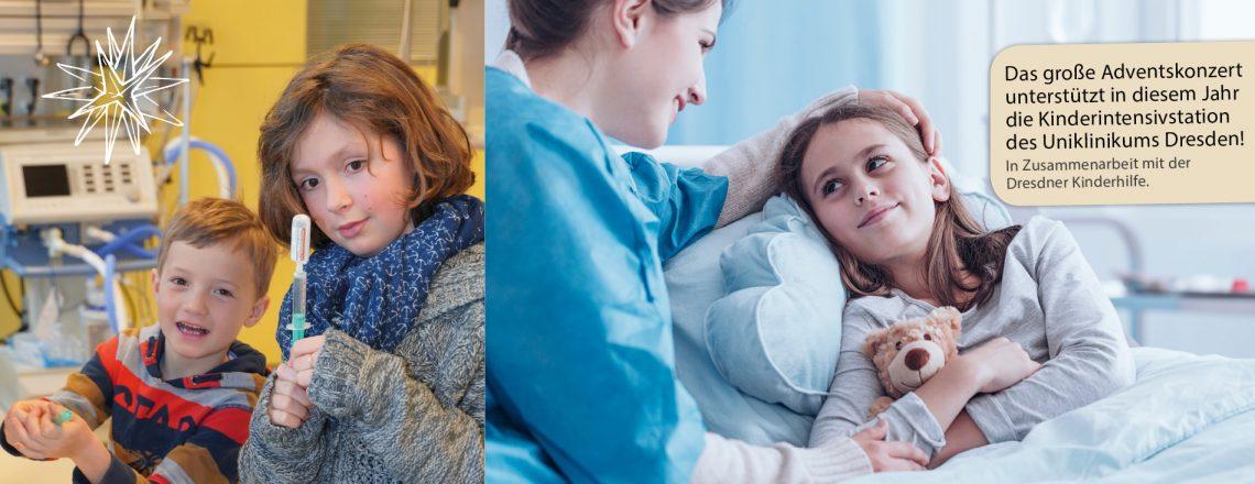 Zeit zu helfen – Spenden für die Kinderintensivstation am Uniklinikum